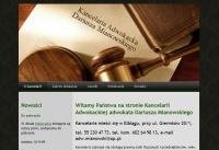 Adwokat Dariusz Mianowski